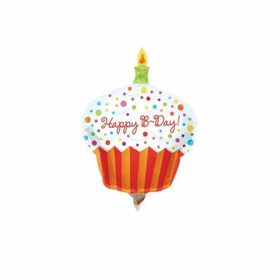 "Ballon ""Happy Birthday"" Cupcake"