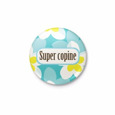 Badge à copine