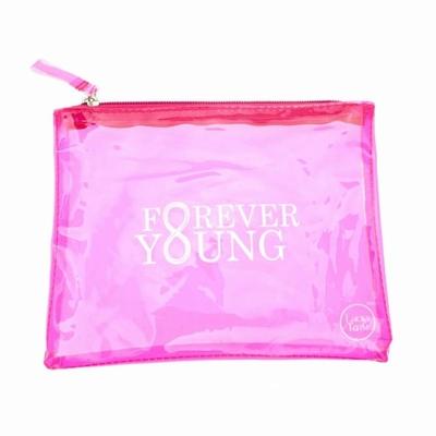 "Pochette translucide ""Forever young"""
