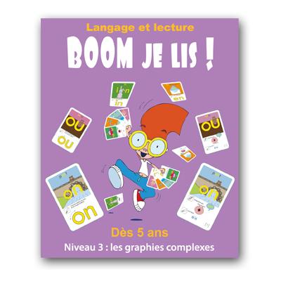 BOOM Je lis - jeu-apprentissage multi-sensoriel de la lecture - Niveau 3