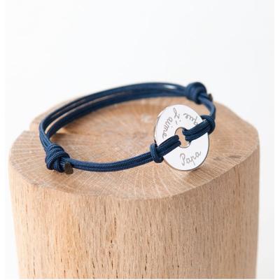 """Bracelet homme personnalisé """"Cible"""""""