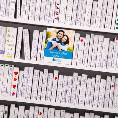 """Affiche à compléter """"Ma bibliothèque idéale"""" personnalisée"""