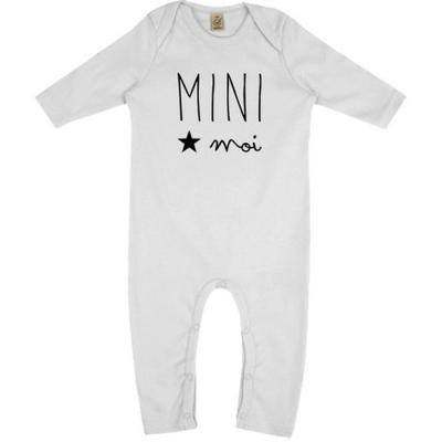 """Grenouillère bio """"mini moi"""" (3 à 6 mois)"""