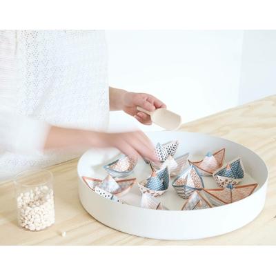 6 bateaux de voeux origami