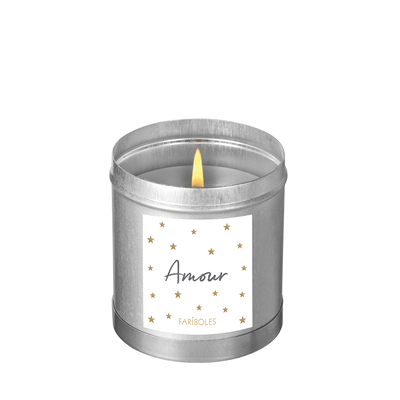 """Bougie parfumée """"Nuit blanche - Amour"""""""