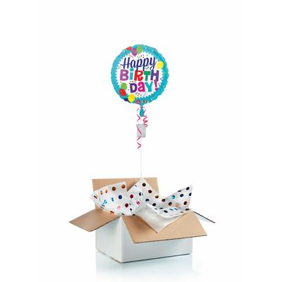 Ballon d'anniversaire gonflé à l'helium : ballons