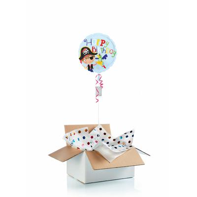 Ballon anniversaire enfant gonflé à l'hélium : pirate