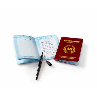 Passeport pour la majorité - livre d'or 18 ans