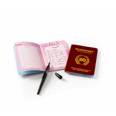 Passeport pour la vingtaine - livre d'or 20 ans