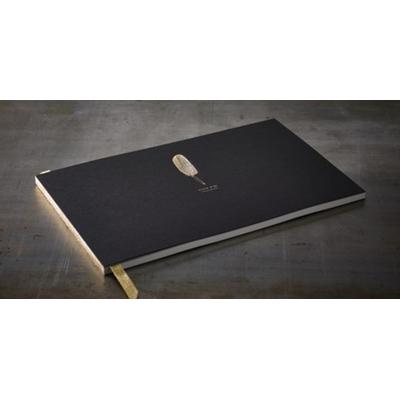 Grand livre d'or noir