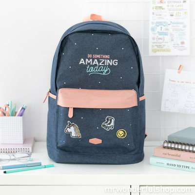 "Sac à dos ""Do something amazing today"""