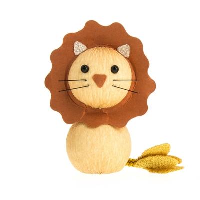 "Porte-bonheur okiagari ""lion"""