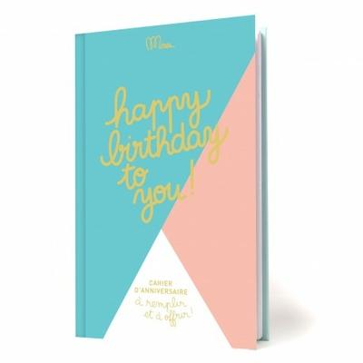 Cahier d'anniversaire à remplir et à offir