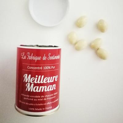 "Boite de chocolats ""100% pur Meilleure Maman"""
