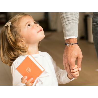 """Bracelet homme personnalisé """"Ancre"""""""