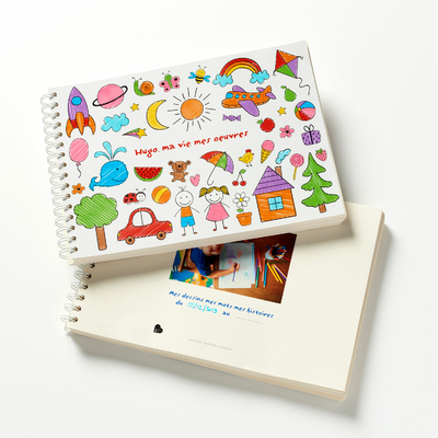 Carnet de dessin de votre enfant, personnalisé