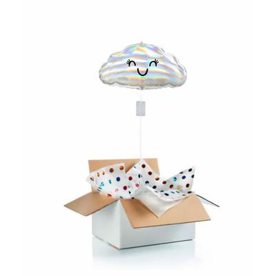 """Ballon """"surprise"""" gonflé à l'hélium : nuage"""