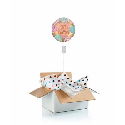 """Ballon d'anniversaire """"surprise"""" gonflé à l'hélium : stay fabulous !"""