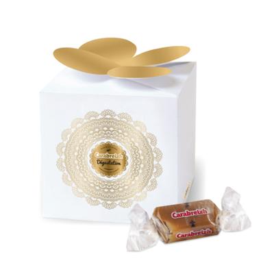 Cube de 5 caramels bretons au beurre salé - fabrication artisanale