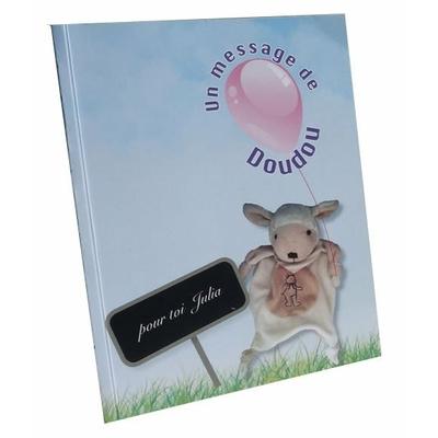 Un message de ton doudou - livre personnalisé pour enfant 0-3 ans
