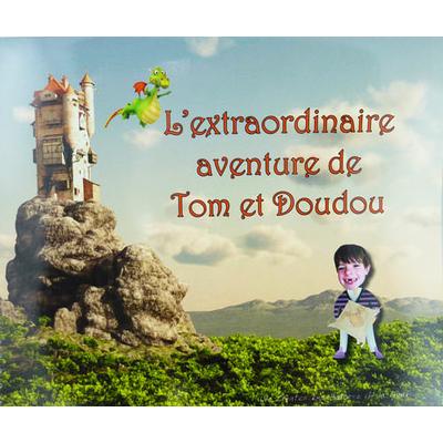 """""""L'extraordinaire aventure de...2 enfants"""" - livre personnalisé pour 2 enfants de 3 à 6 ans"""