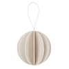 Bauble 4cm or 6cm white (1)