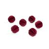 Baubles 7cm dark red