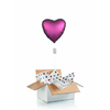 Ballon-helium-grand-coeur-rose-fonce-satin