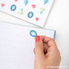 stickers cahier