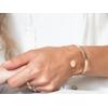 bracelet chaine pastille personnalisé