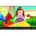 Dessin animé personnalisé pour enfant de 2 à 6 ans dans le monde des pirates