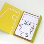 """12 Cartes postales à colorier et à """"faire parler"""" (+ 12 enveloppes)"""