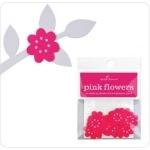 20 Fleurs autocollantes pour déco de table
