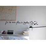 """Sticker Poetic Wall """"J'ai des envies pleines de papillon"""""""