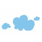 """Pensette® """"nuage"""", pense-bête adhésif effaçable"""