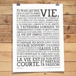Manifeste Holstee, en français