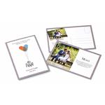 100 cartes de remerciement de mariage, avec vos empreintes !