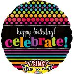 """Ballon d'anniversaire géant qui chante """"Good times"""""""