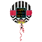 "Ballon d'anniversaire géant qui chante ""happy birthday to you"""