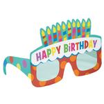 """6 paires de lunettes """"happy birthday"""""""