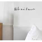 "Sticker Poetic Wall ""Parle moi d'amour"""