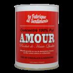 """Boite de chocolats """"100% pur Amour"""""""
