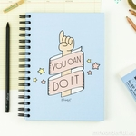 "Carnet de motivation ""You can do it"""