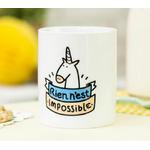 "Mug licorne ""rien n'est impossible"""