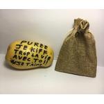 Poste ta Patate ! (envoi postal de message personnalisé sur pomme de terre, anonyme...ou pas)