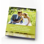 Livre d'or mariage original - carnet de  phrases à compléter...