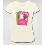 """T-shirt personnalisé """"Maman, reine des coeurs"""""""