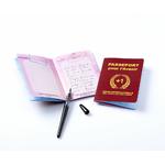 """Livre d'or d'anniversaire original """"passeport pour l'avenir"""""""
