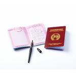 """Livre d'or """"passeport pour la soixante-dizaine"""""""