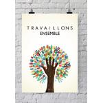 "Poster ""Travaillons ensemble"" (50 x 70 cm)"